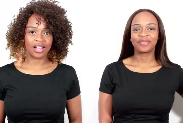 make an advertising video starring twins