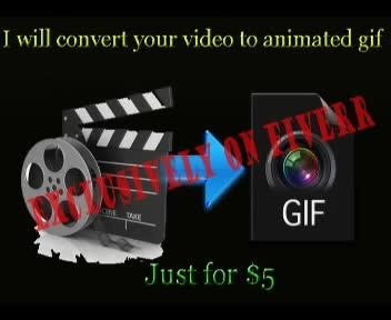 convert Your video to an Animated GIF in 12 hours