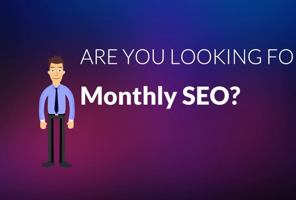 do All In One monthly SEO Service to rank keywords