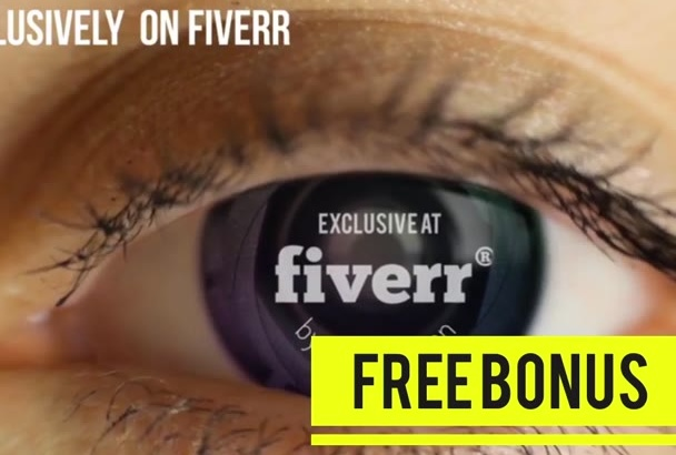 advertise anything in eyeball for just 5 dollar