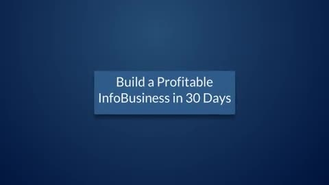 give you internet marketing course BUILD Profitable InfoBusiness in 30 Days plr