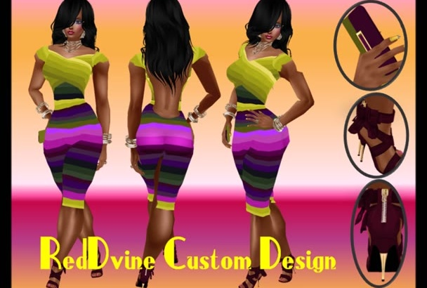 design an Ad or Flyer with or without my 3D Model
