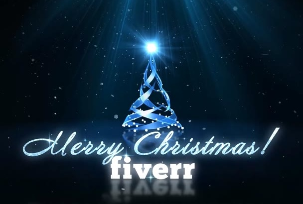 create This Amazing Christmas or New Year Video eCard