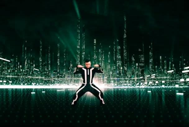 do Tron Legacy Break dance