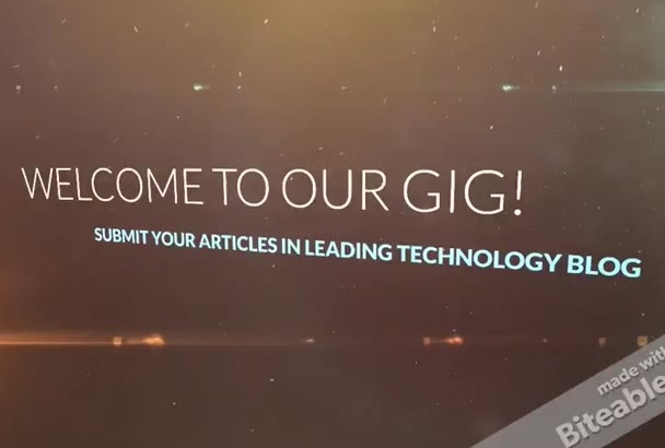 do guest post, articles, apps and more in my Technology Blog