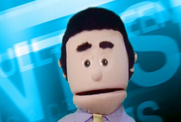 professional Pitch Puppet Commercial Business Ad Voice Over