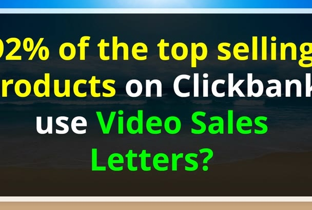 create an Amazing VIDEO Sales Letter