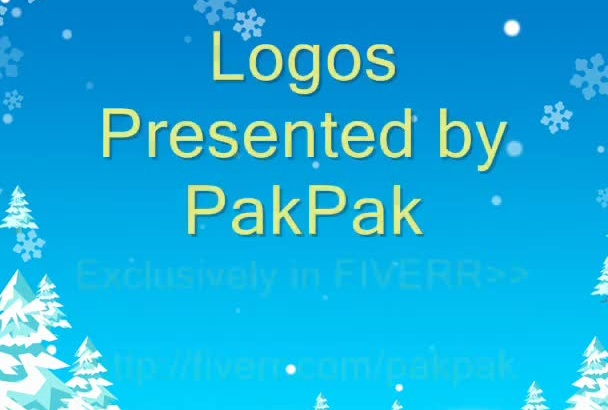 design two professional logos for you along with the PSD files