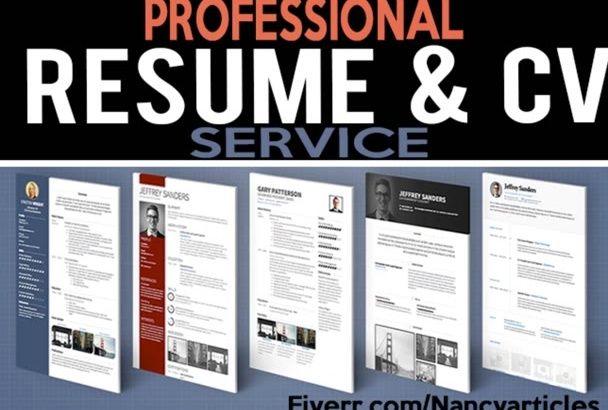write and rewrite resume cover letter or linkedin
