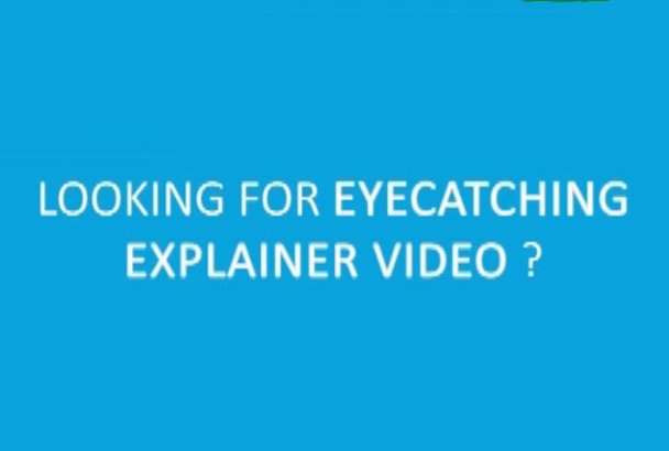make simple awesome flat explainer VIDEO