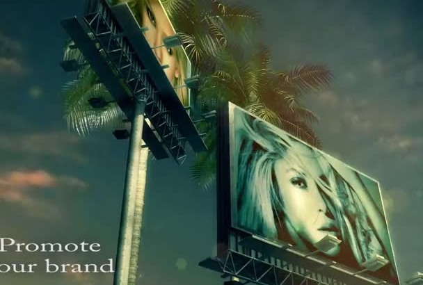 promote your brand on two rotating BLOCKBUSTER billboards