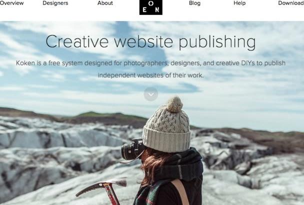 design professional modern Responsive website