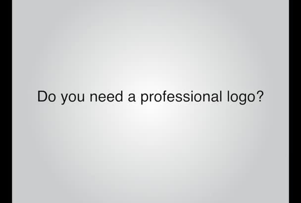 design your professional logo fast