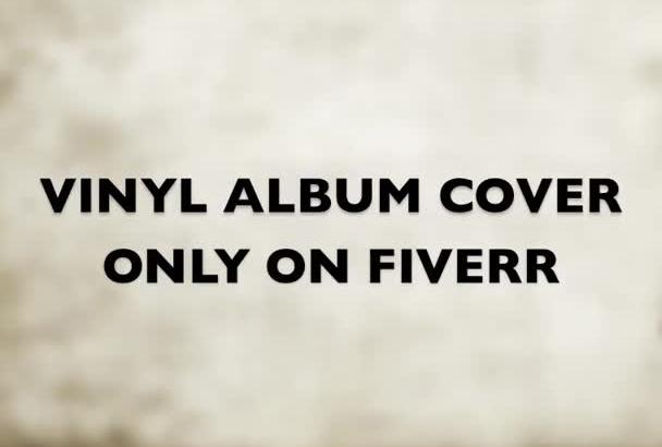 design a VINTAGE Vinyl Album or Single Cover