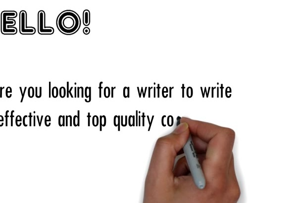 write effective and top quality content up to 500 words