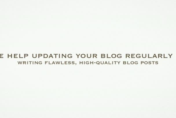 write 2 high quality blog posts of 250 words