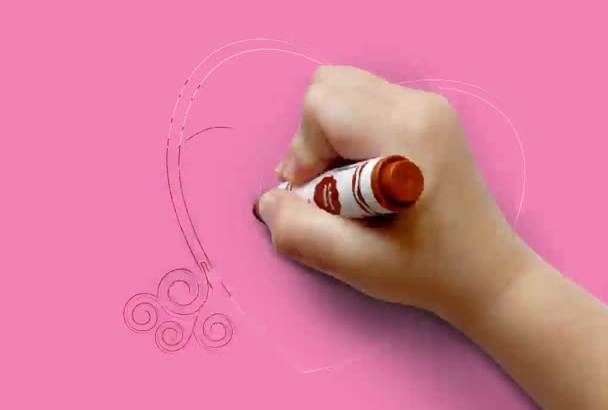 make a beautiful Valentines day whiteboard video today