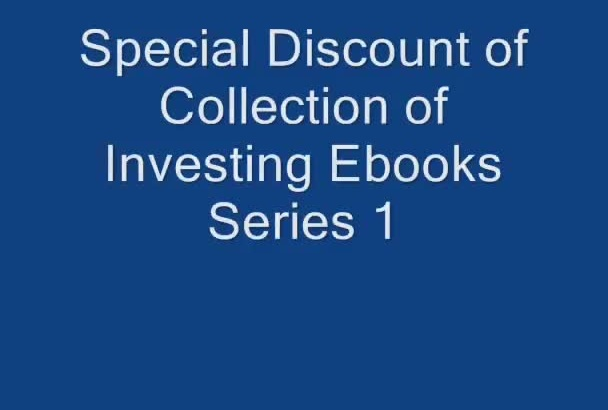 give 8 personal finance and investing ebook