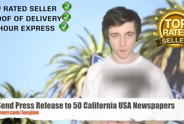 send Release to 50 California USA Newspapers