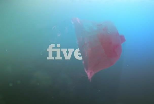 make a ocean logo reveal video intro
