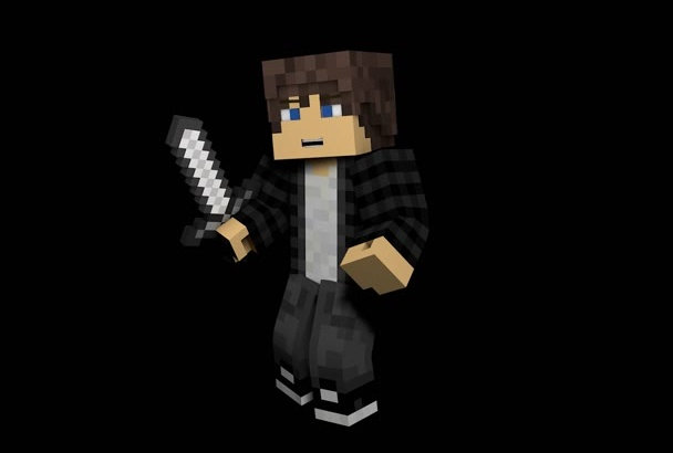 turn your Minecraft skin into a fancy 3D model