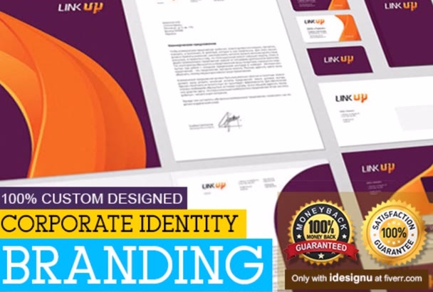 design full corporate identity branding