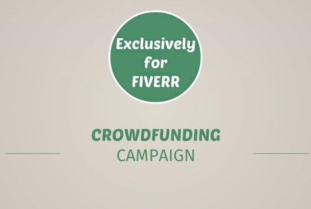 give You This CROWDFUNDING Fund Raising Video