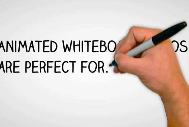animate a Professional Whiteboard Video