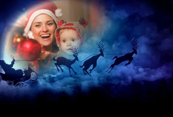 make this Magic Christmas SLIDESHOW for you