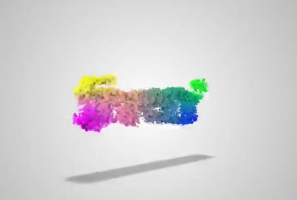 create This Video Logo Intro With Particles