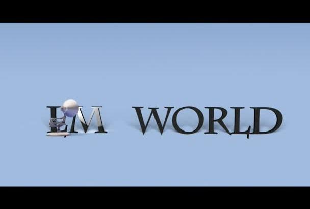 personalizar 2 intros de Disney, MGM, Pixar o 20th Century en 48 horas