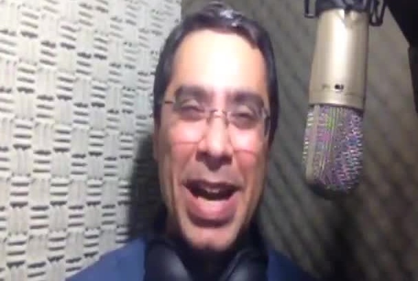 record professional voiceovers in portuguese from Brazil