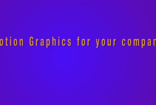 create a beautiful video for your company