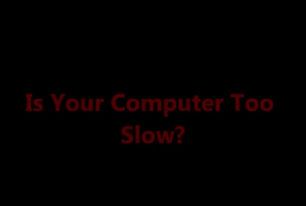 clean and speed up your computer