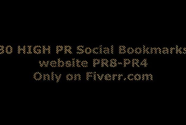 submit your website on 27 PR8 to PR4 Social Bookmarks MANUALLY ,Quality matters much more than quantity
