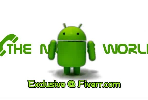 make Android promote your message or website