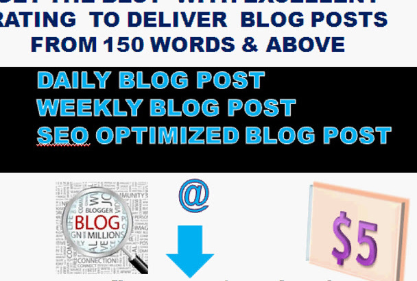 write unique BLOG post
