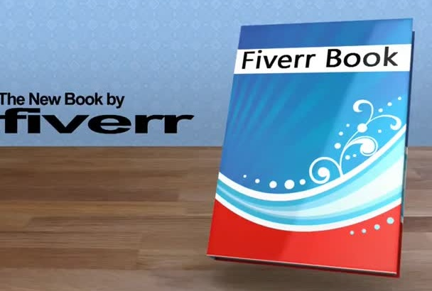 make an amazing 3D video of your book COVER