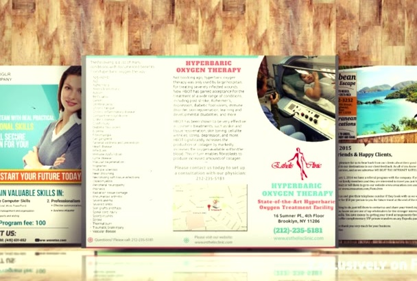 design flyer, postcard, menu