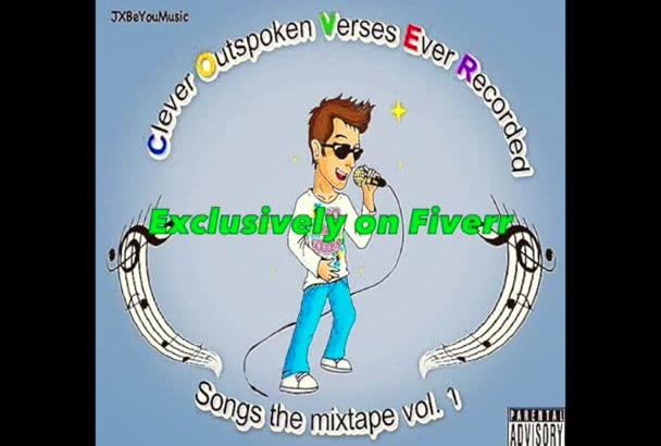 record a hip hop verse or chorus as a feature