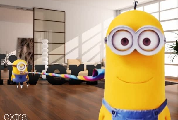put your logo in FUNNY evil Minion video