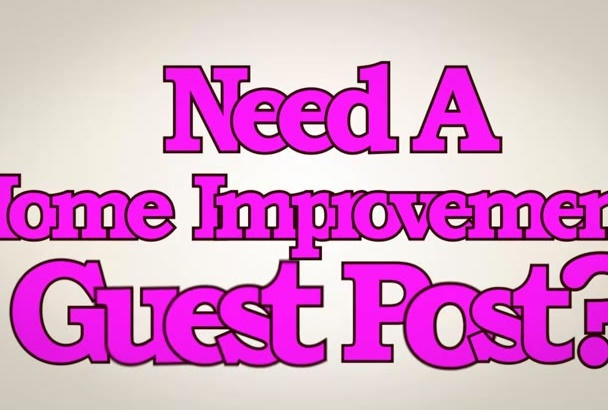 guest post on PR 4 Home Improvement blog