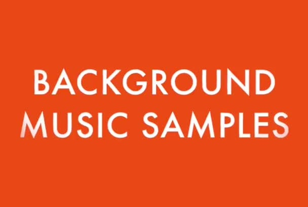 create custom background music for you