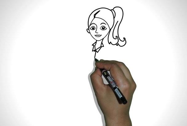 create attractive whiteboard animation