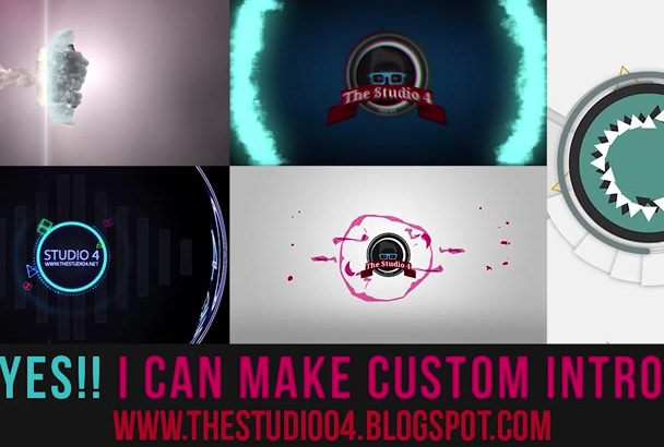 create custom video intro for your channel