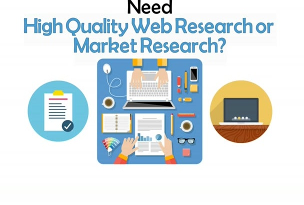do 2 hours web research task
