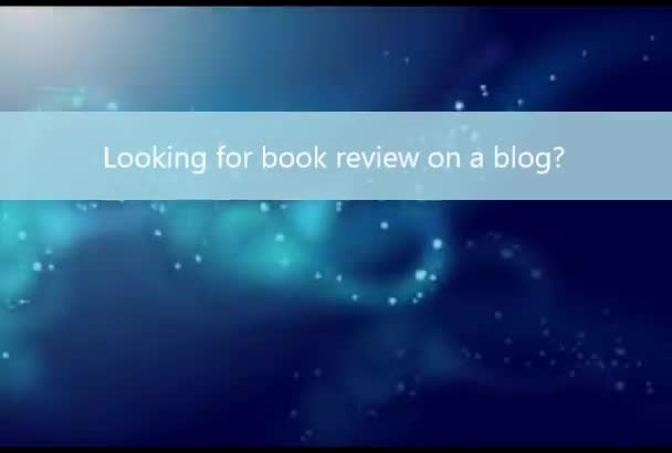 review your book on BookBlogs