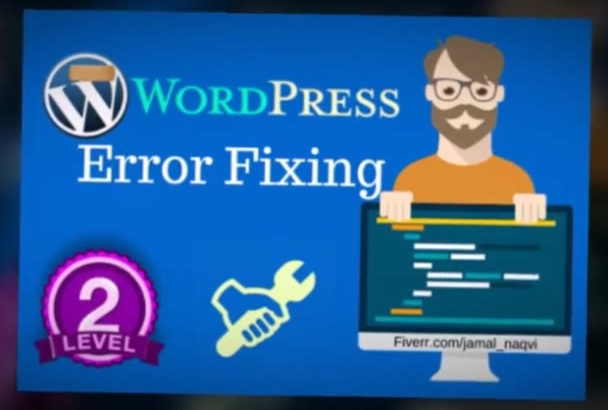 fix your WordPress errors and issues
