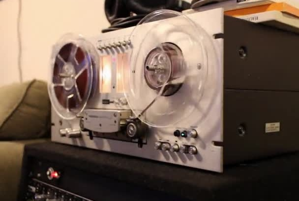 run your song through a reel to reel tape machine