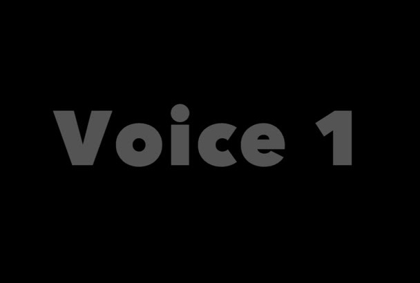record a professional voice over in 24hrs